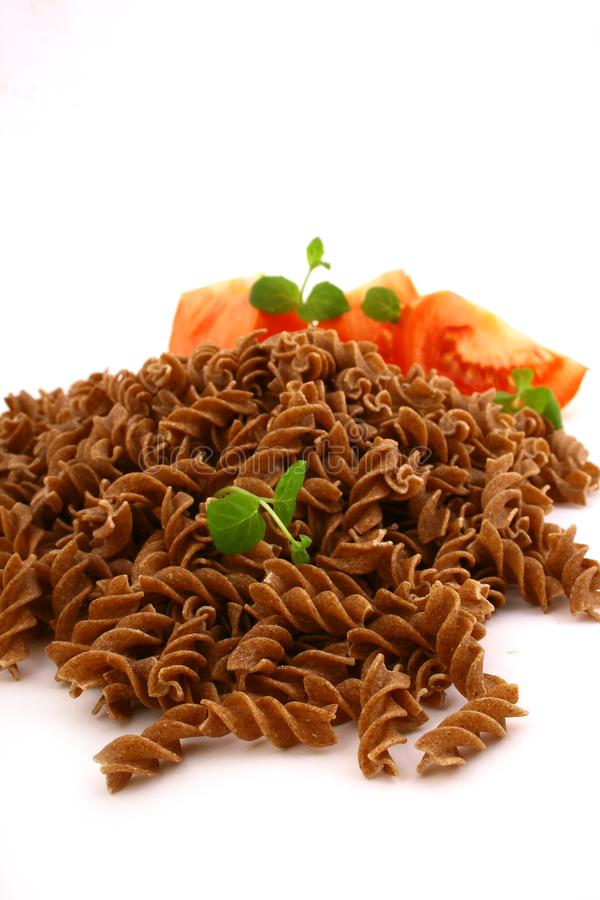 Download Fusilli twirls pasta stock image. Image of uncooked, acid - 4616193