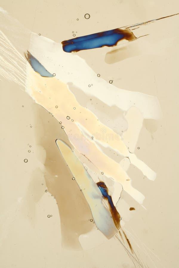 Fusione dei cristalli di ghiaccio fotografia stock libera da diritti
