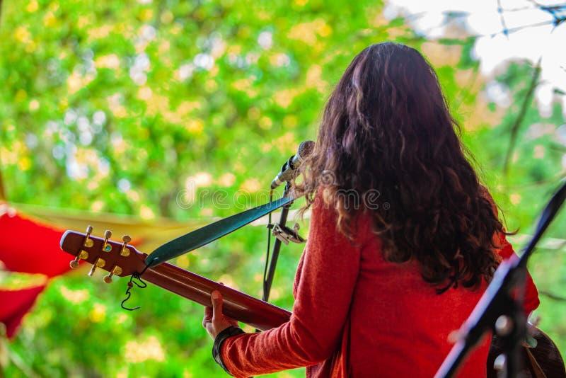 Fusione dell'evento di musica culturale & moderna fotografia stock libera da diritti