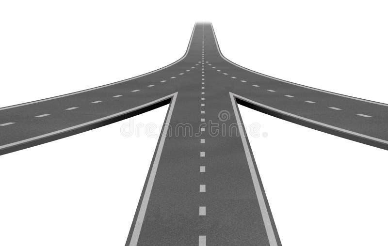 Fusionen und Teilhaberschaften stock abbildung