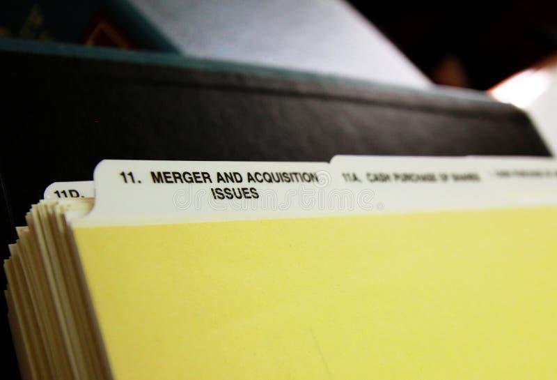 Fusiones y adquisición fotografía de archivo libre de regalías