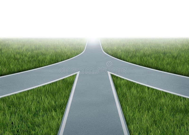 Fusions et partenariats illustration libre de droits