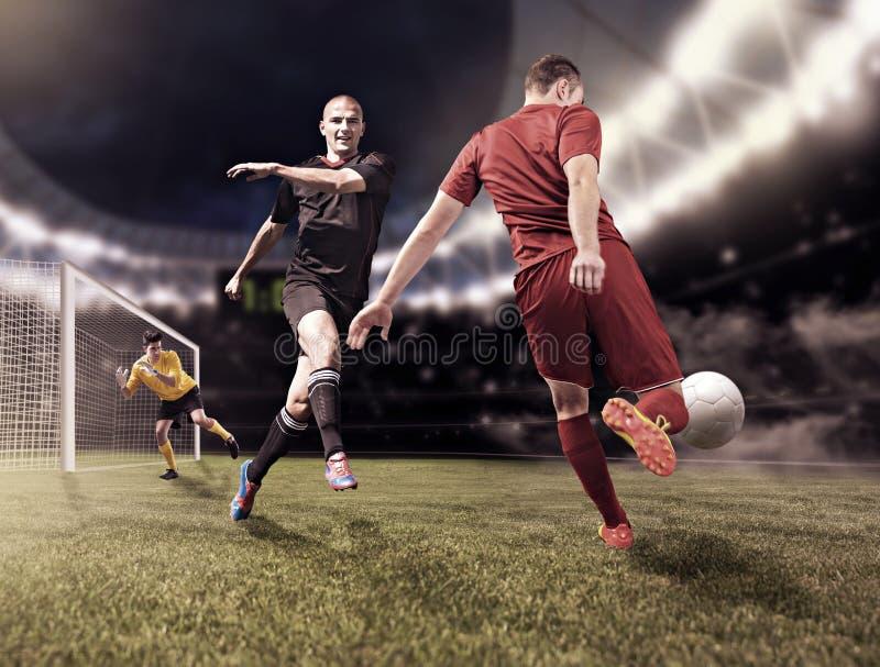 FUSSBALL (3) stockfoto