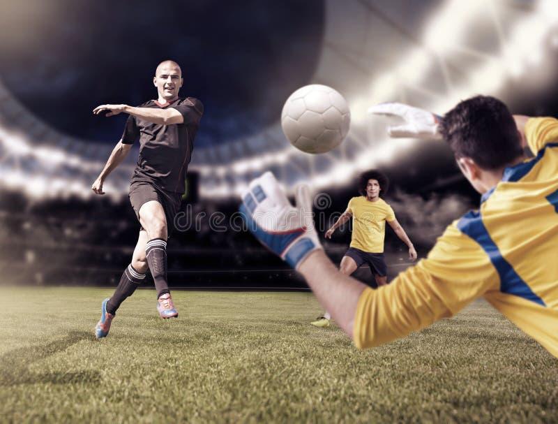 FUSSBALL (3) stockbild