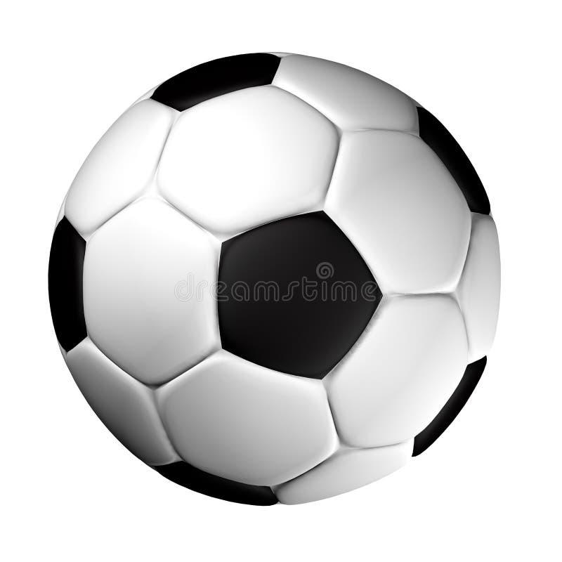 FUSSBALL-KUGEL stock abbildung
