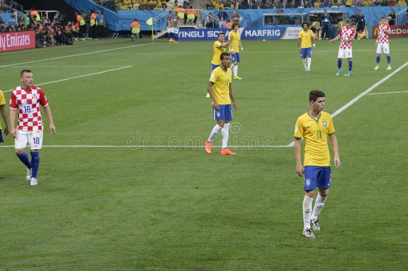 FUSSBALL-WELTMEISTERSCHAFT BRASILIEN 2014 lizenzfreie stockfotos