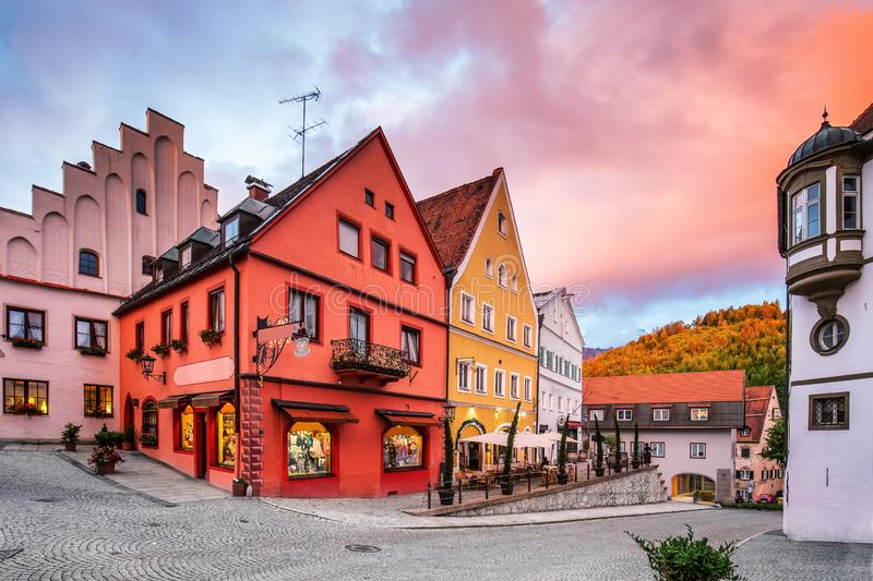 Fussen, Germany stock photography