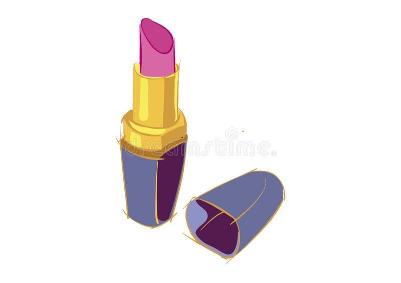 Lipstick logo royalty free stock photos