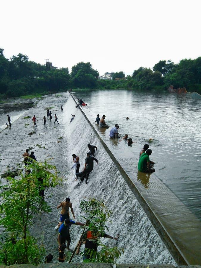 Futala Nagpur jeziorny maharashtra obrazy royalty free