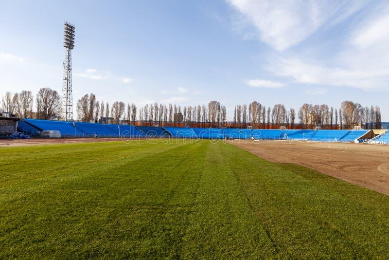 Futbol Światowy mistrzostwo 2018 Stażowy stadium miasto Samara, Togliatti obrazy stock