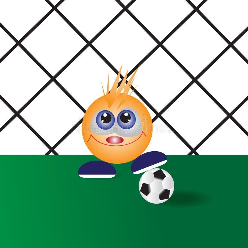 Futbol. ilustracja wektor