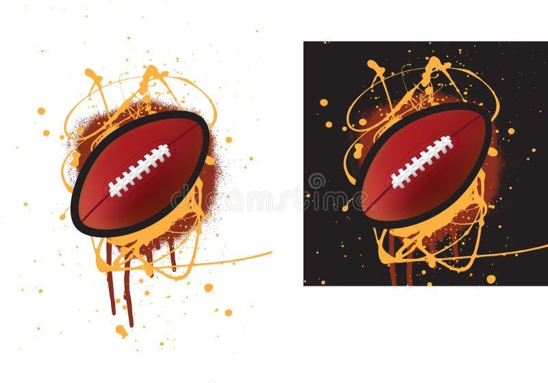futbol amerykański royalty ilustracja