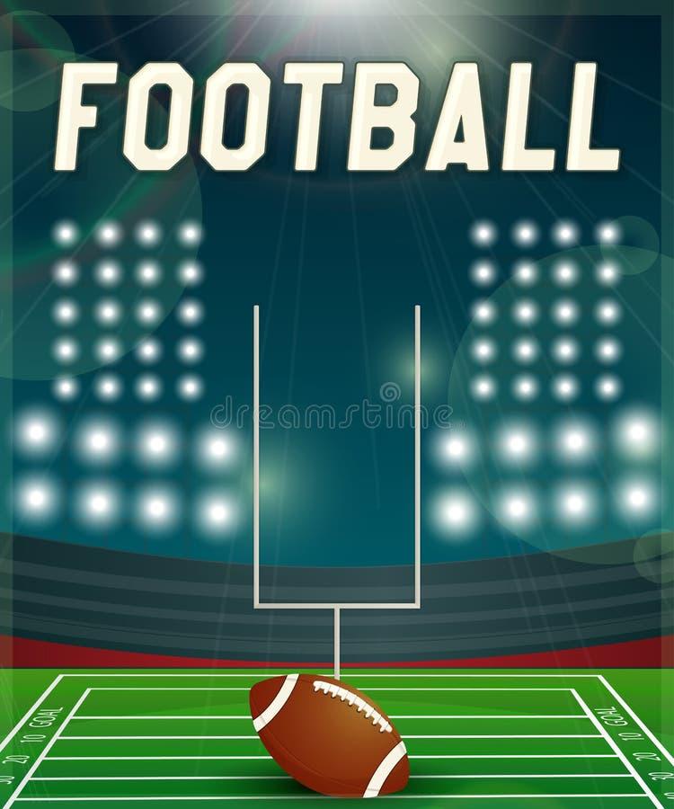 futbol amerykański ilustracji