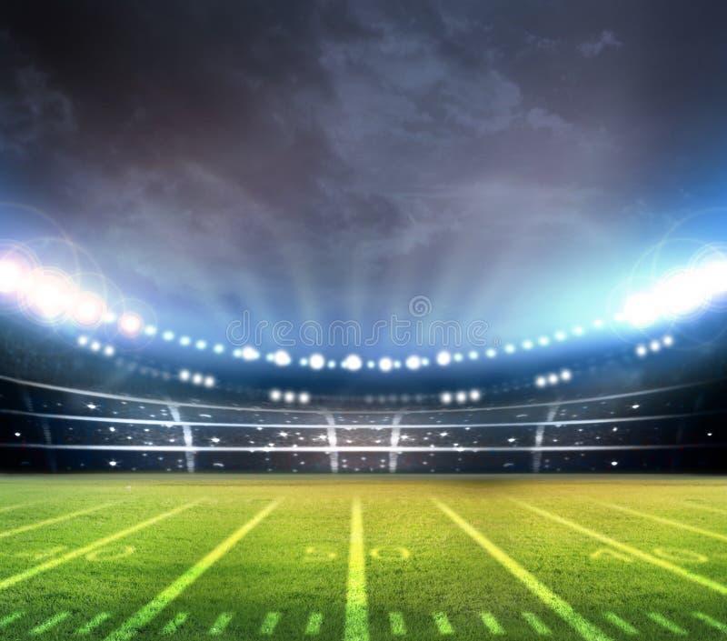 futbol amerykański ilustracja wektor