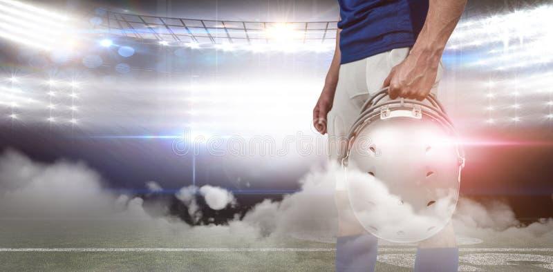 Futbol amerykański arena royalty ilustracja