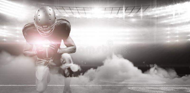 Futbol amerykański arena ilustracja wektor