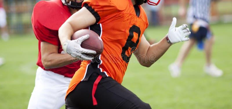 Futbol amerykański gracze zdjęcia stock