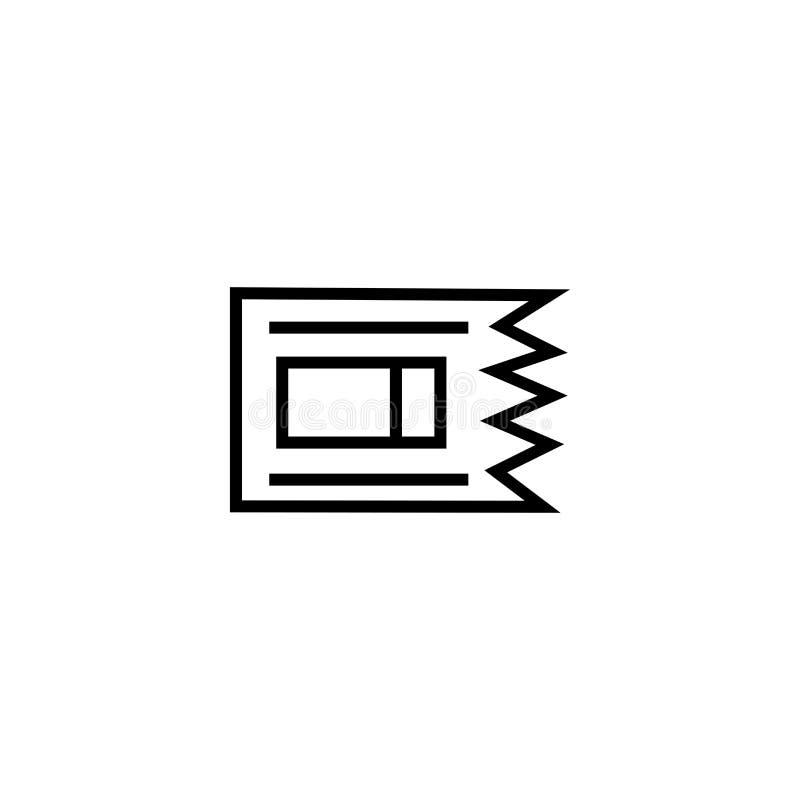 Futbol amerykański gry ikony wektoru biletowy znak i symbol odizolowywający na białym tle, futbol amerykański gry logo biletowy p royalty ilustracja