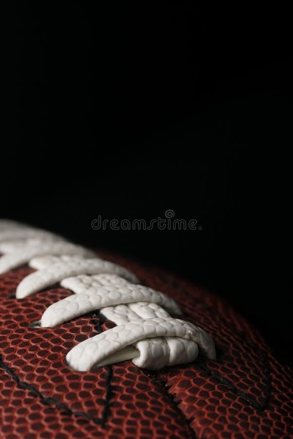 Futbol amerykański zbliżenie zdjęcia stock