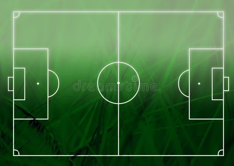 Futbol (boisko do piłki nożnej) royalty ilustracja