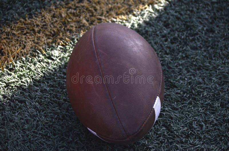 Futbol gotowy do użycia zdjęcia stock