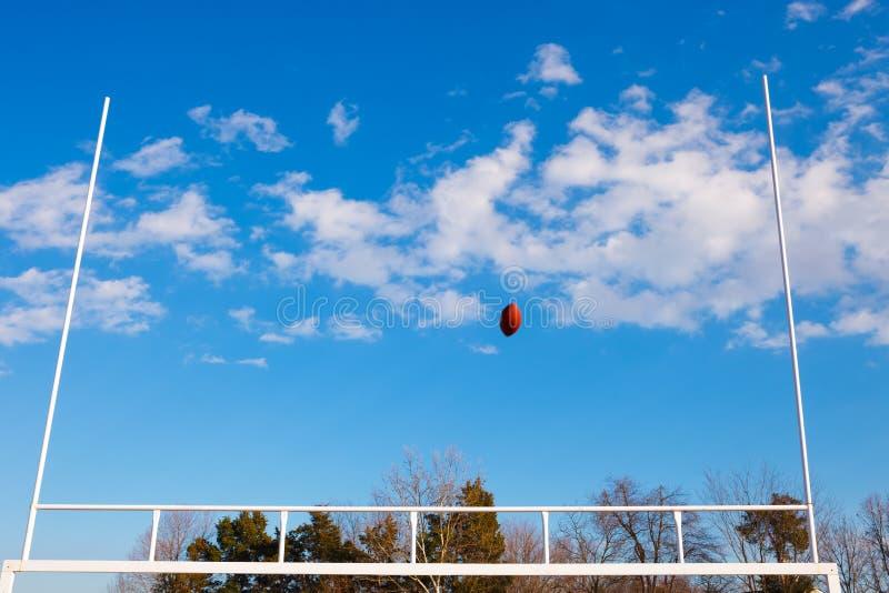 Futbol Iść Przez Bramkowej poczta obrazy royalty free