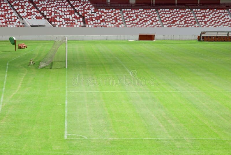 futbol pola zdjęcie stock