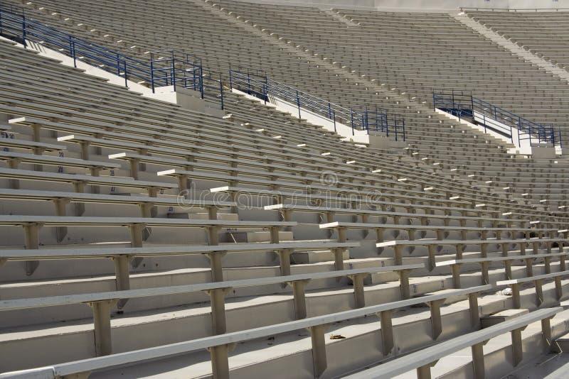 futbol siedzenia na stadionie zdjęcie stock