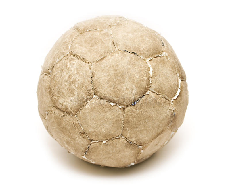 futbol stary obraz royalty free