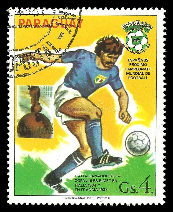Futbolista del equipo nacional italiano imagenes de archivo