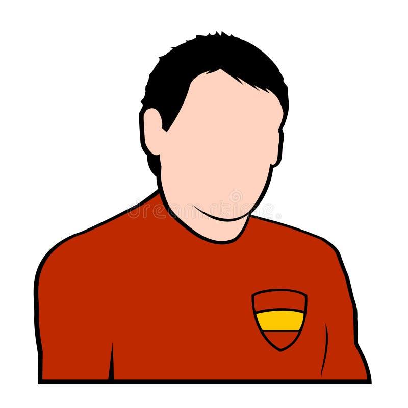 Futbolista Español Imagen de archivo