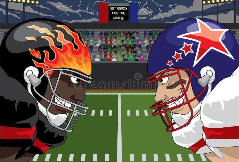 futbolowa furia ilustracji