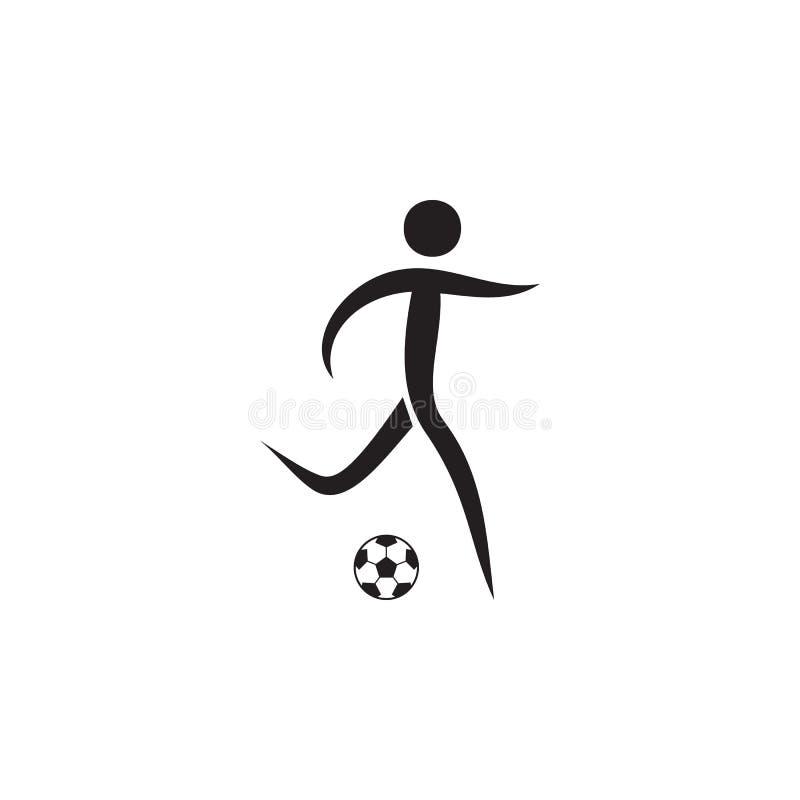 Futbolowa ikona Elementy sportowiec ikona Premii ilości graficznego projekta ikona Znaki i symbol inkasowa ikona dla stron intern royalty ilustracja