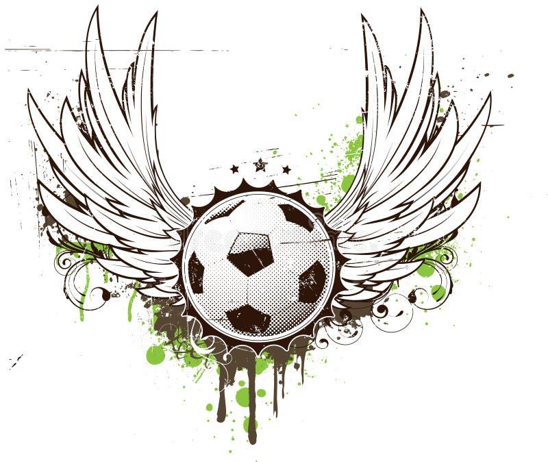 futbolowa insygnia ilustracja wektor