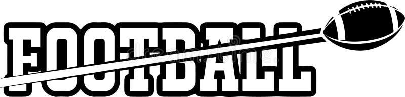 Futbolowego Rzemiennego Balowego koronki akci wyposażenia sportów stadium pola szkoły drużyny munduru loga gracza Pro Fachowa szk ilustracji