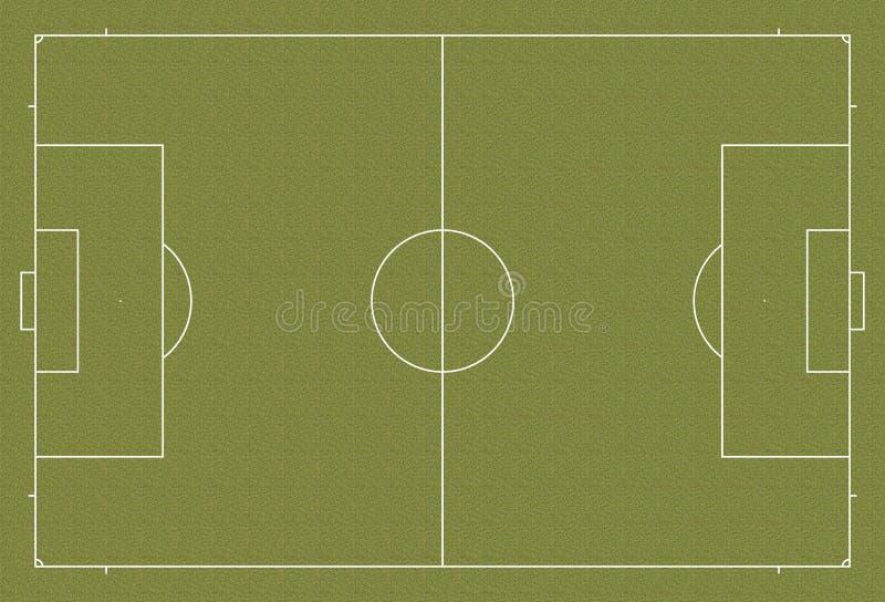 Futbolowej smoły boisko do piłki nożnej przepis ilustracji