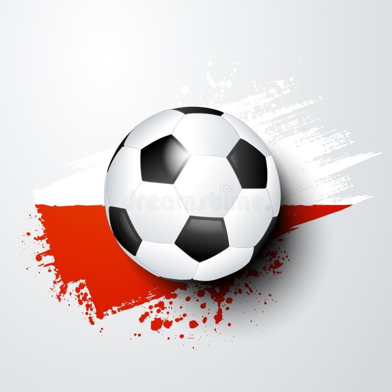 Futbolowy światu, europejczyka mistrzostwo z lub barwi royalty ilustracja