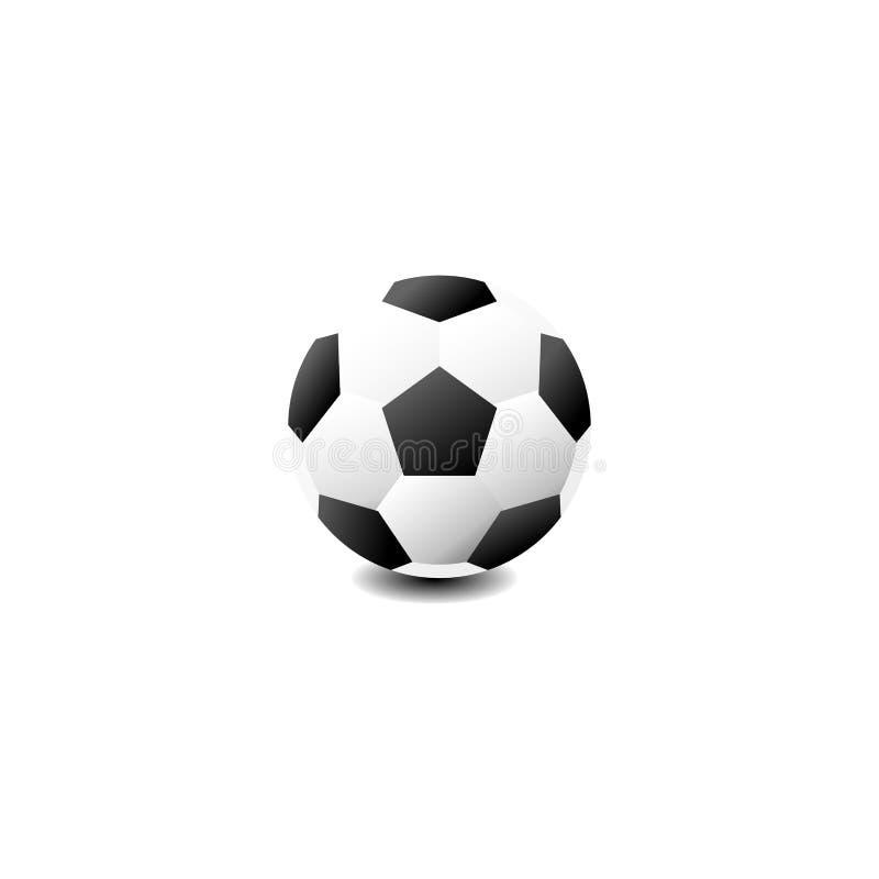 Futbolowy symbol ilustracji