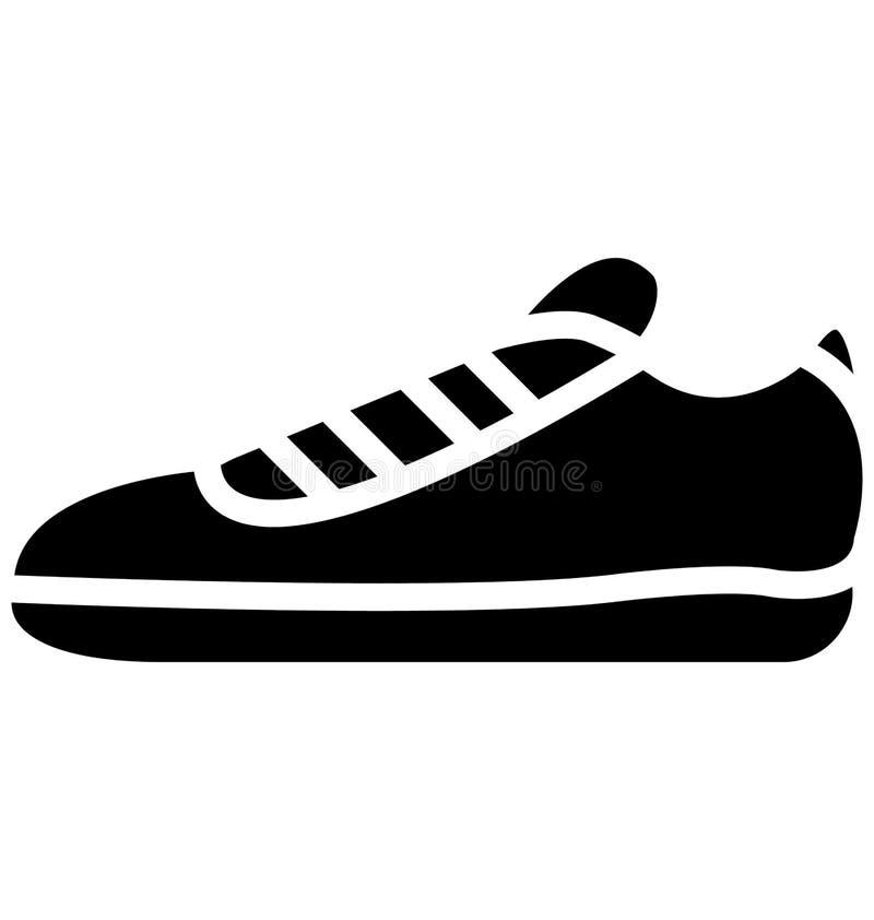 Futbolowy tenisówka, działających butów wektor który może łatwo redagować lub modyfikujący ilustracja wektor
