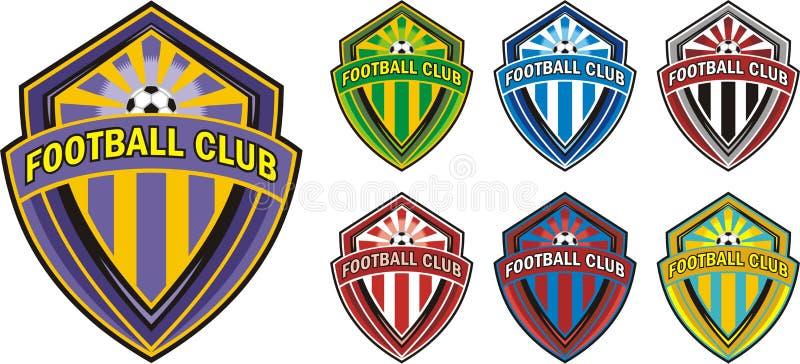 Futbolu świetlicowy logo ilustracji