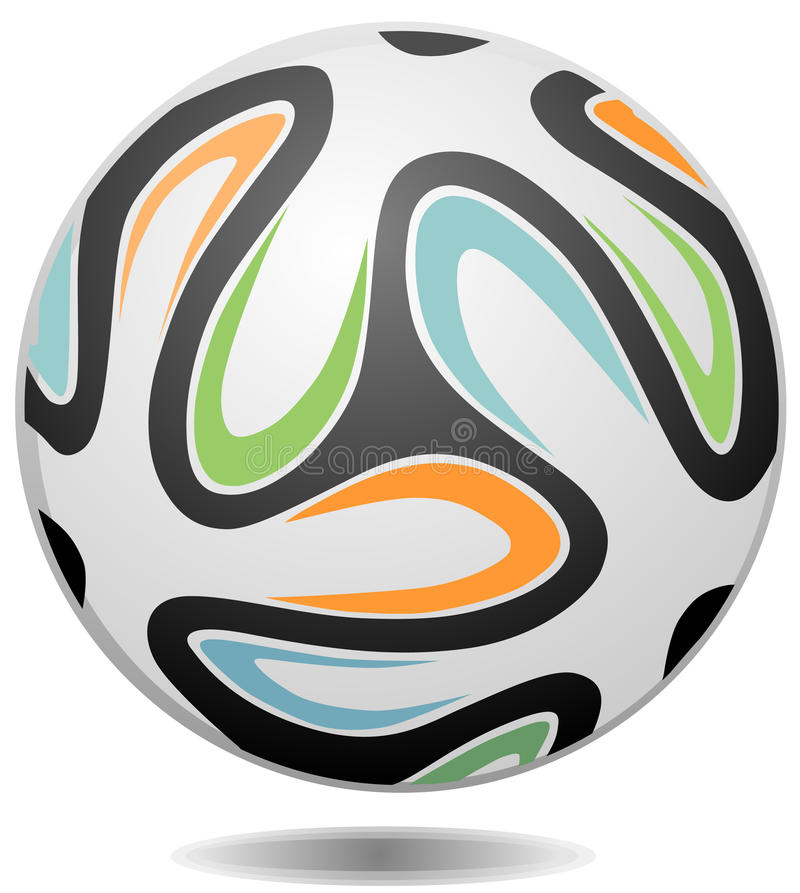 Futbolu, piłki nożnej piłka/ ilustracji