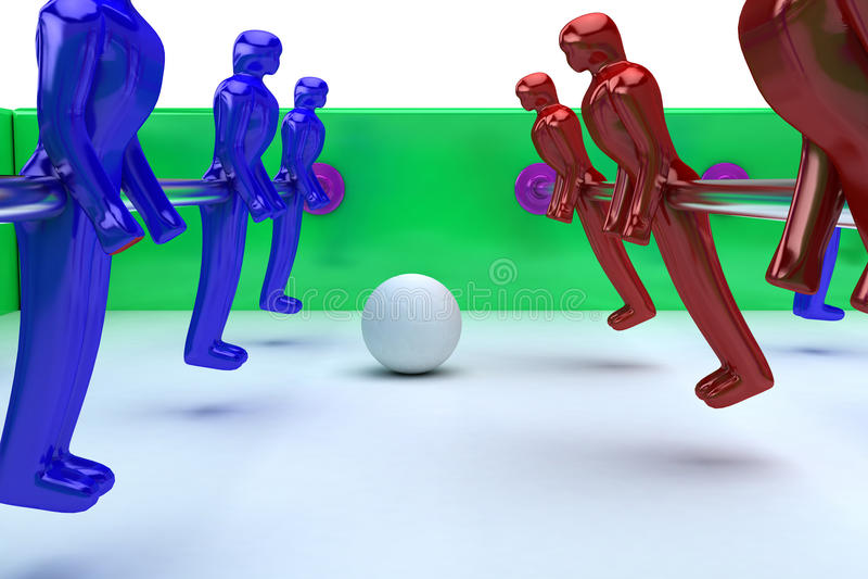 Download Futbolu stół ilustracji. Ilustracja złożonej z soccer - 13326242