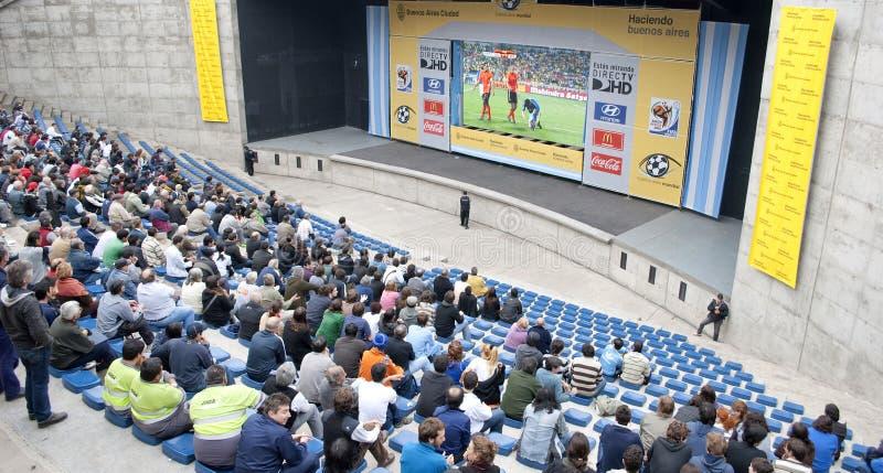 Futebol 2010 do copo de mundo fotografia de stock royalty free