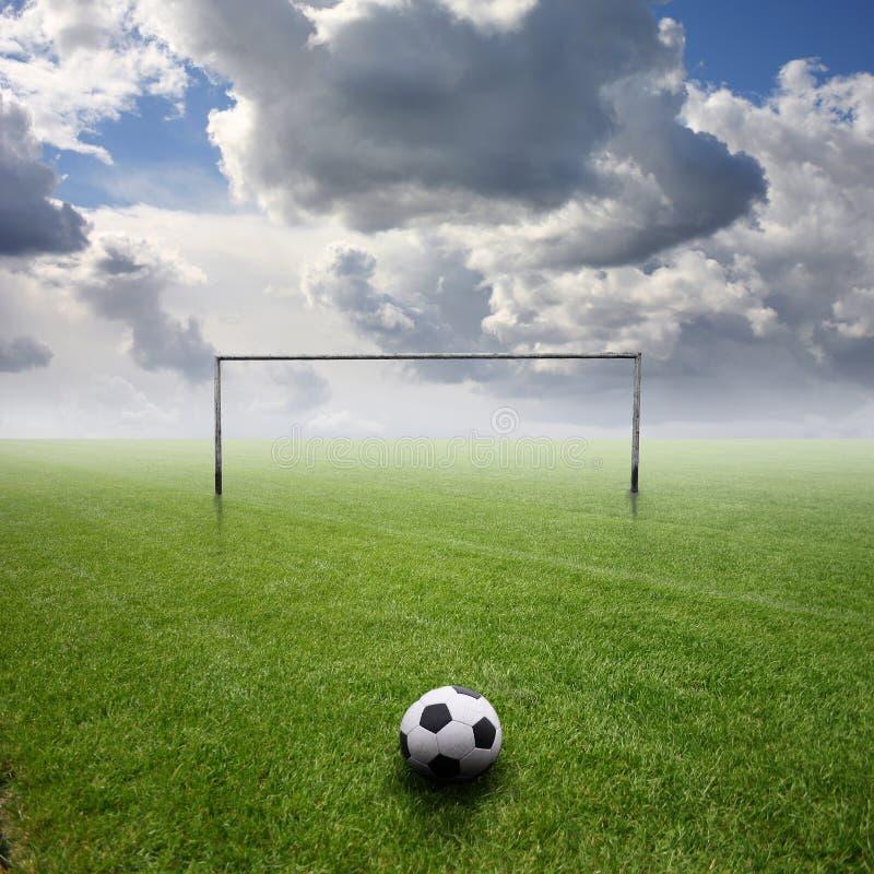 Futebol 3 foto de stock