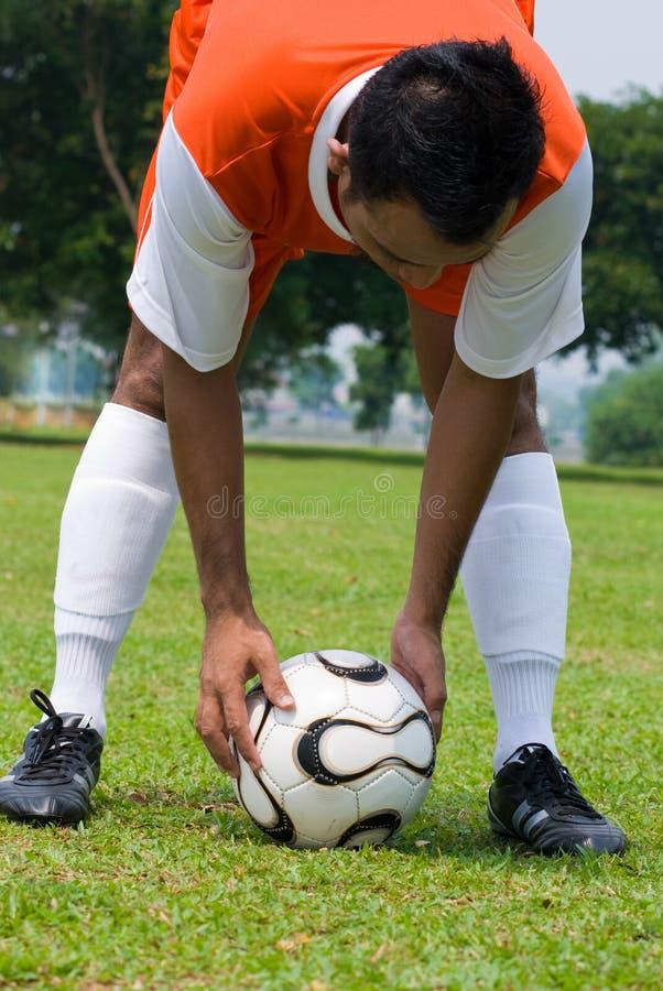 Futebol fotografia de stock