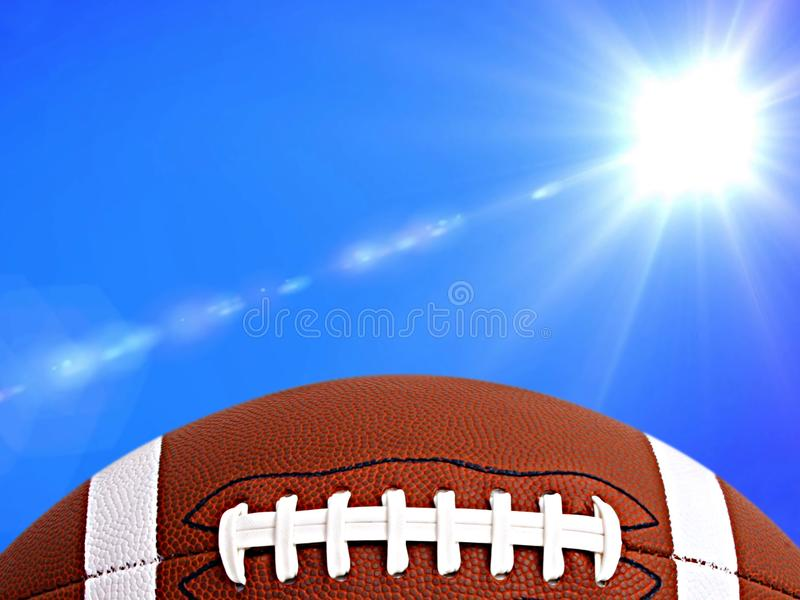 Futebol americano, foto de stock