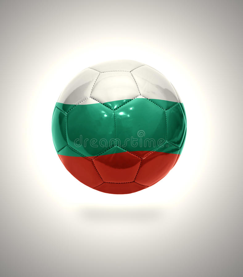 Futebol búlgaro ilustração stock