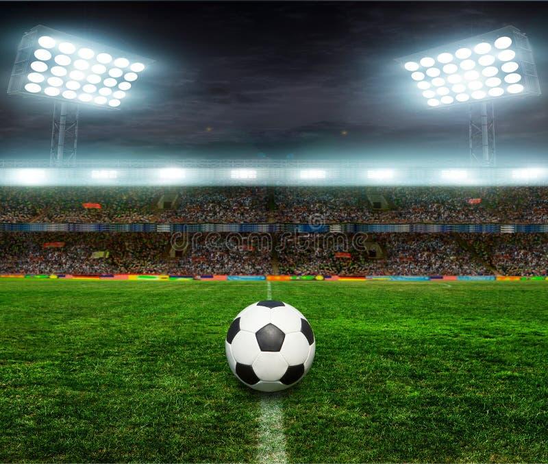 Futebol bal futebol, fotografia de stock royalty free