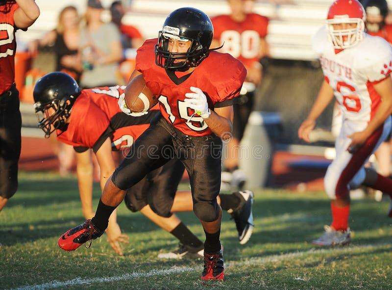 Futebol da High School imagens de stock