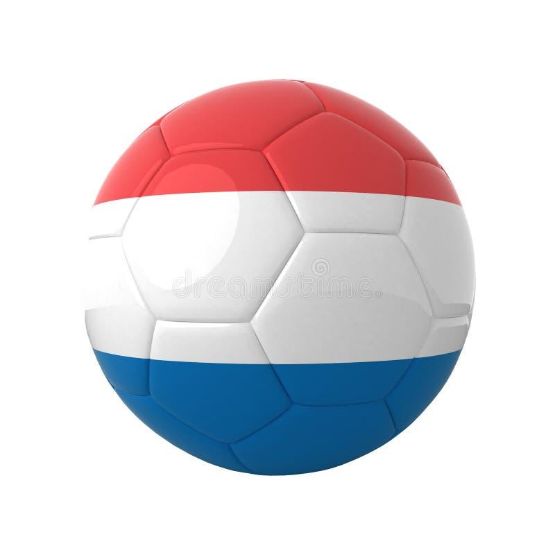 Futebol de Holland. ilustração royalty free